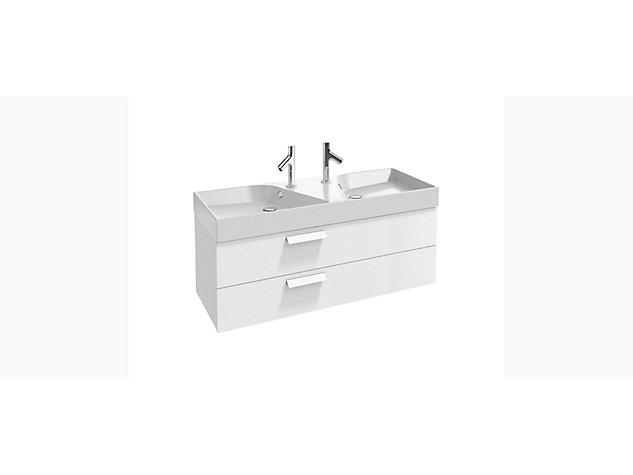 Rythmik Base unit for 1200mm Vanity top 2 drawer