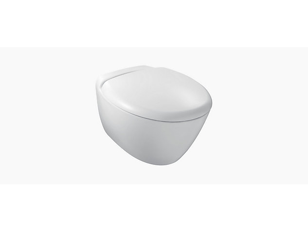 Presquile Wall Hung toilet pan