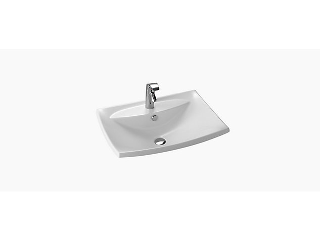 Escale 600mm Inset Vanity basin