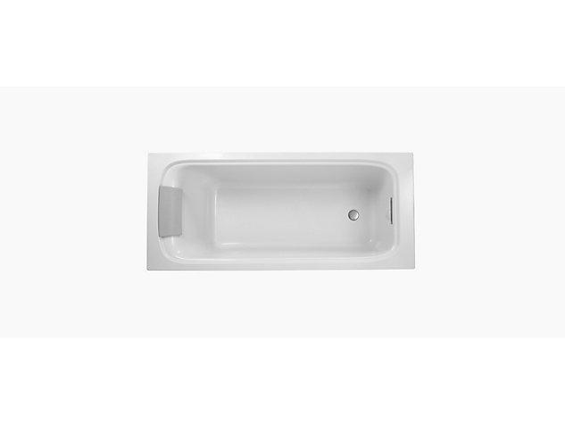 Flote 1700x750mm bath rectangular overflow