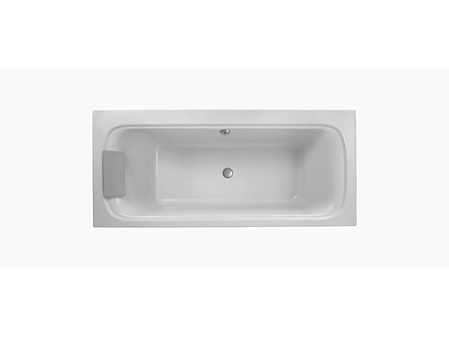 Flote double ended 1900 mm bath round overflow