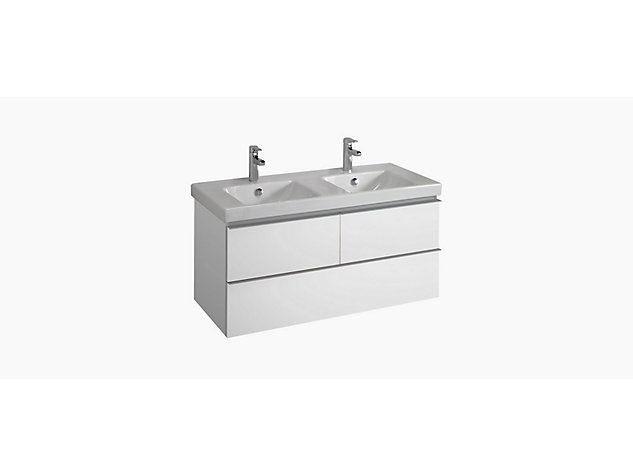 Reach Base unit for 1200mm Washbasin Vanity top 2 drawer