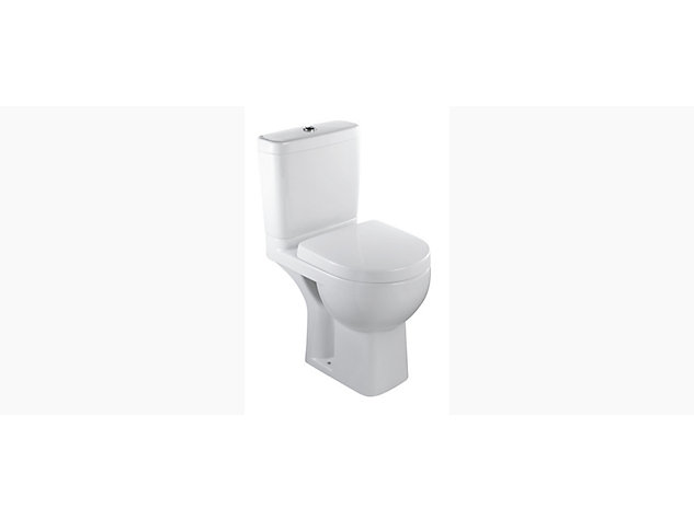 Reach Comfort Height Compact Close Coupled toilet pan