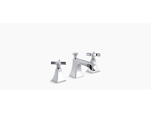Memoirs Stately 2-handle 3-hole basin mixer cross handle
