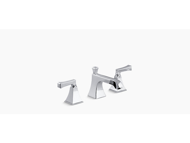 Memoirs Stately 2-handle 3-hole basin mixer deco handle