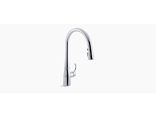 Simplice Extra tall pull-down tap