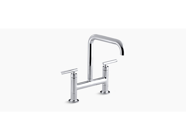 kohler shop faucet artifacts kitchen browse all faucets n purist sink com us