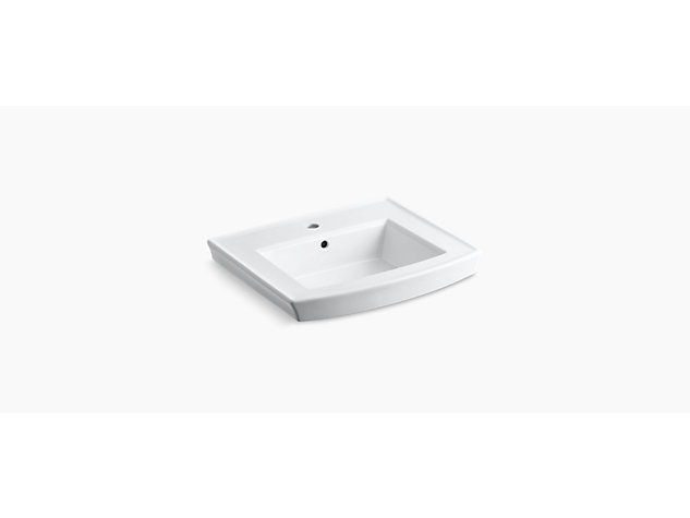 Archer 608mm Vanity top 1 tap hole