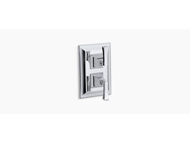 Memoirs Stately Thermostatic built-in shower valve with diverter deco handle