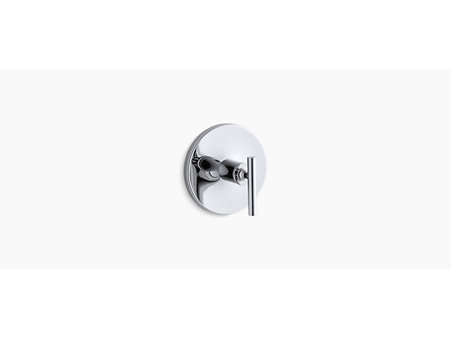 Purist Thermostatic valve without shut-off lever handle