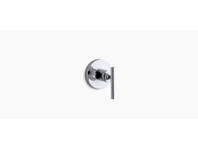 Purist 3-way transfer valve lever handle