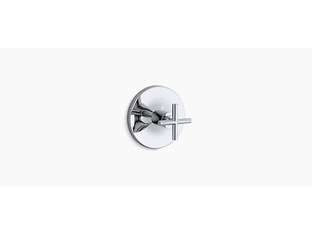 Purist Thermostatic valve without shut-off cross handle