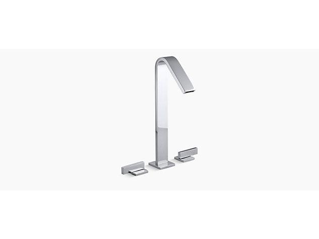 Loure Tall 2-handle 3-hole basin mixer