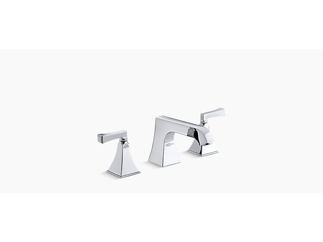 Memoirs Stately 2-handle 3-hole deck-mount bath filler deco handle