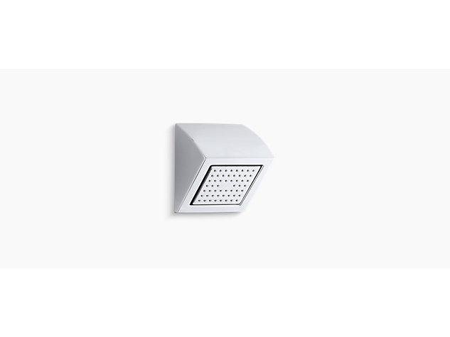 Square 54-nozzle shower head