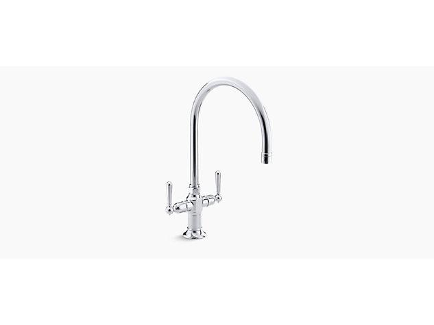 HiRise Single hole 2-handle tap