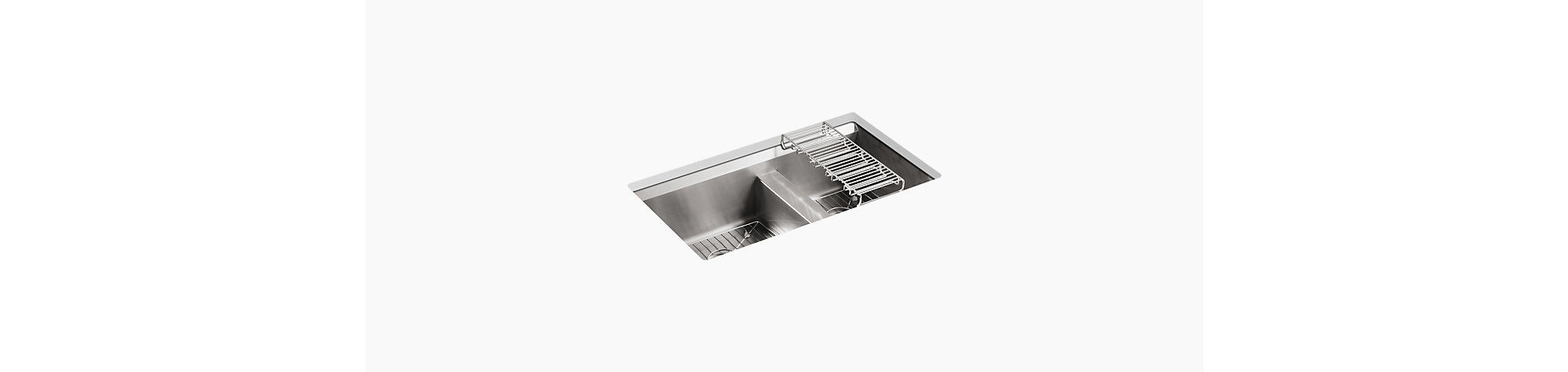 Undermount Kitchen Sinks For Designer Kitchens Kohler