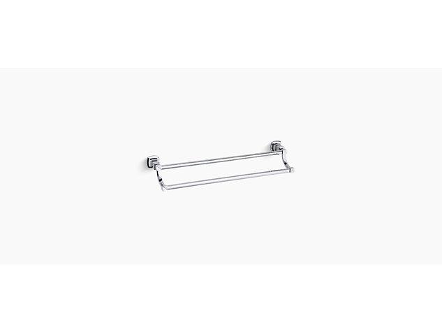 Margaux 667mm double towel rail