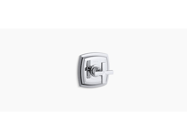 Margaux Thermostatic valve without shut-off valve cross handle
