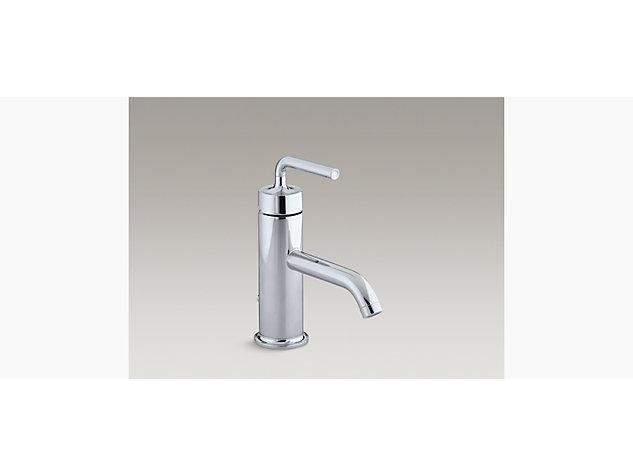 Purist Single-lever monobloc basin mixer straight handle