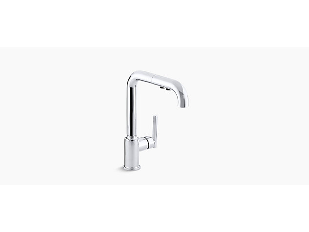 Purist Pull-down tap