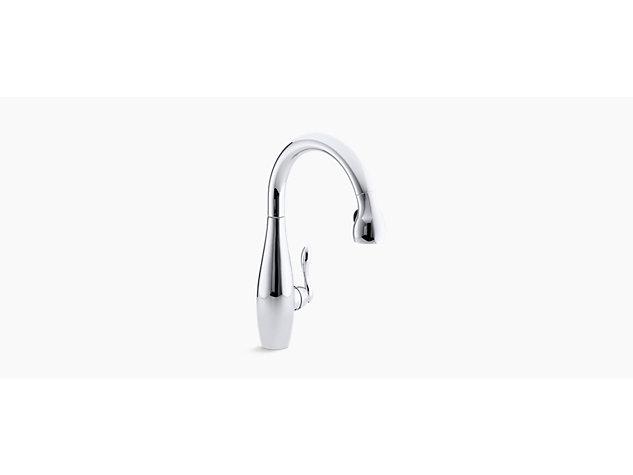 Clairette Pull-down tap