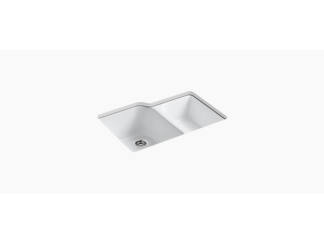 Executive Chef Under-mount 838mm 4 tap hole