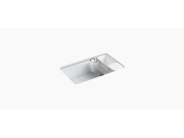 Riverby Under-mount 838mm with accessories 5 tap hole