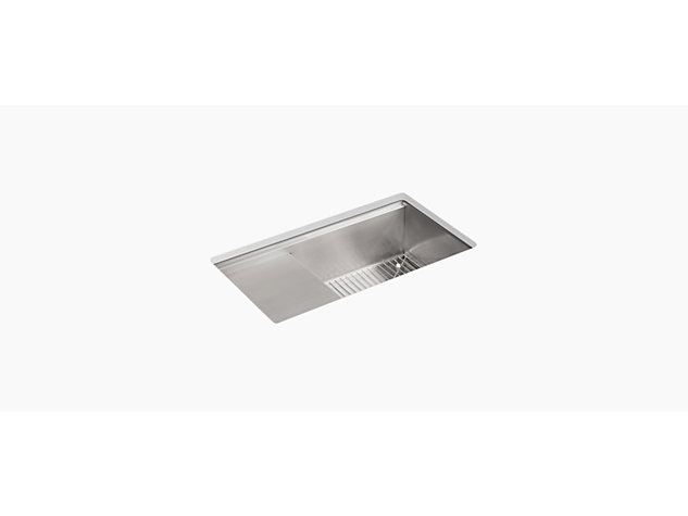 Stages Under-mount 838mm with accessories no tap hole