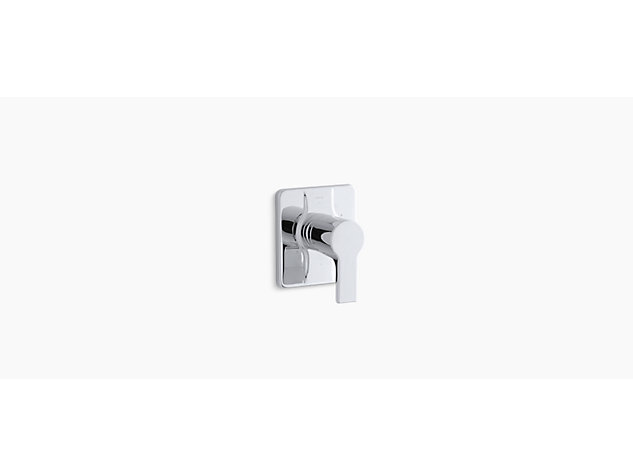 Singulier Thermostatic valve without shut-off