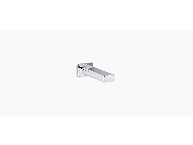 Strayt Wall-mount bath spout