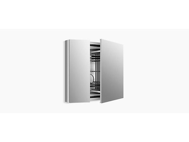 Verdera 860mm mirrored cabinet