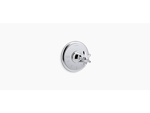 Artifacts® Built-in Thermostatic Control Valve, Prong Handle