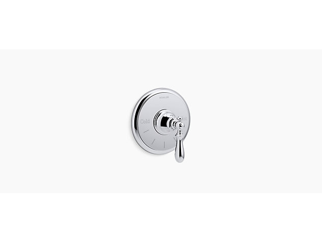 Artifacts® Built-in Thermostatic Control Valve, Lever Handle