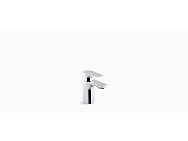 Aleo Single-lever monobloc basin mixer no pop-up waste