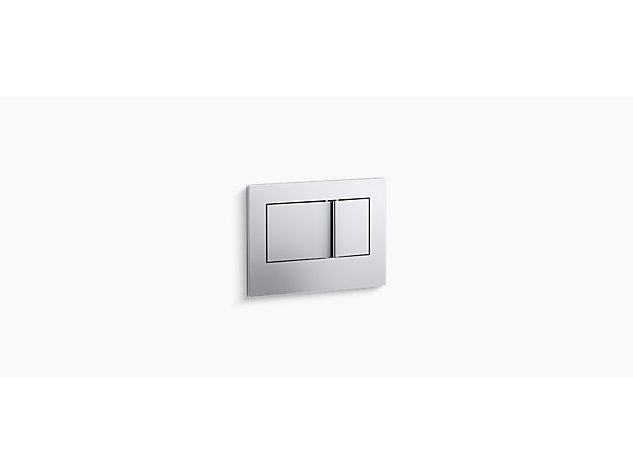 Flush Plate polished chrome (1)