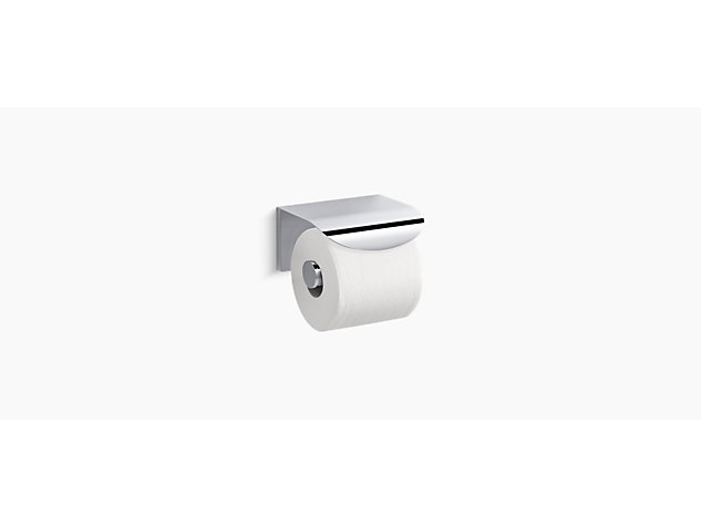 Avid Composed covered toilet roll holder horizontal