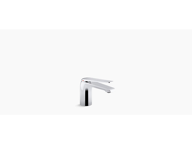 Avid single-lever monobloc basin mixer without waste