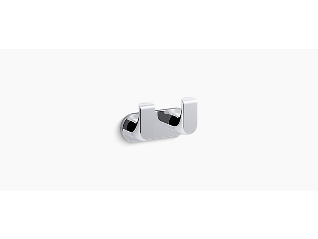 Avid Composed double robe hook