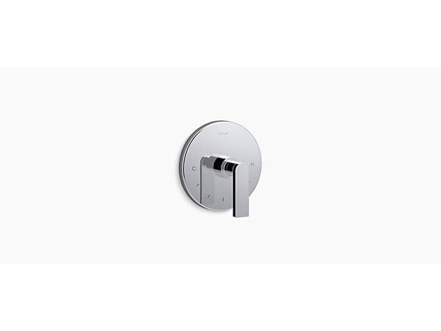 Composed® thermostatic valve trim, Lever handle