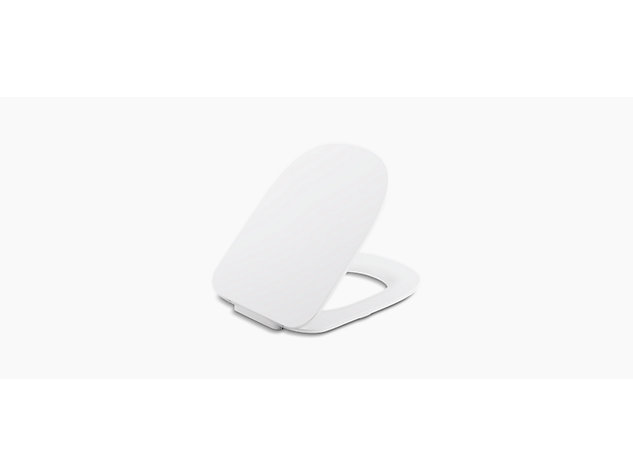 ModernLife™ Slim, slow close, quick release wall hung toilet seat