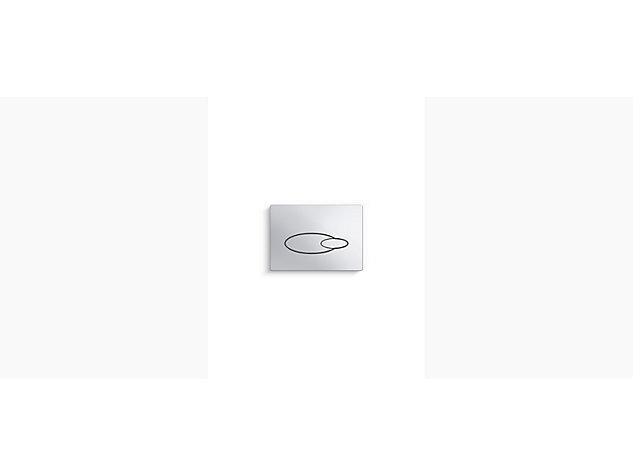 Flush Plate Polished Chrome