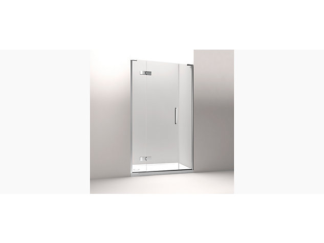 Minima NG 1500mm Hinged Door with In-Line Panel