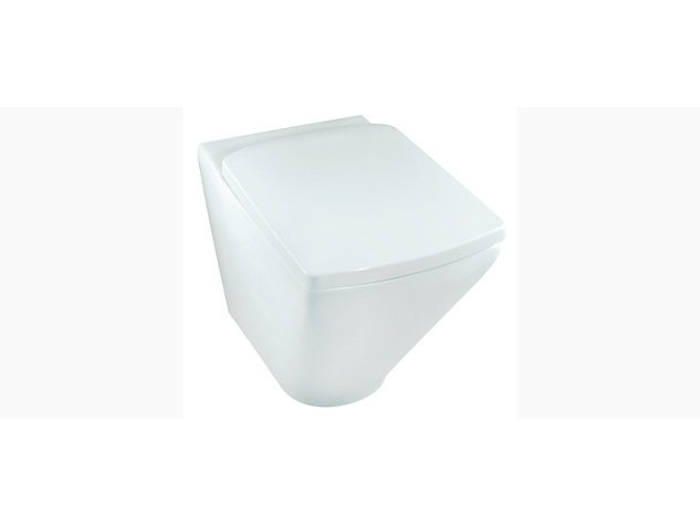 Escale rimless back-to-wall toilet pan