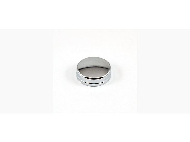 Roller Cover Cap Chrome