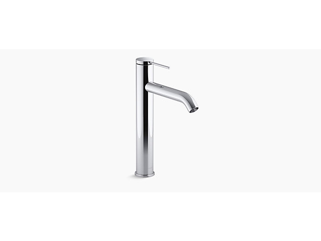 Components™ Tall single-lever monobloc basin mixer without waste