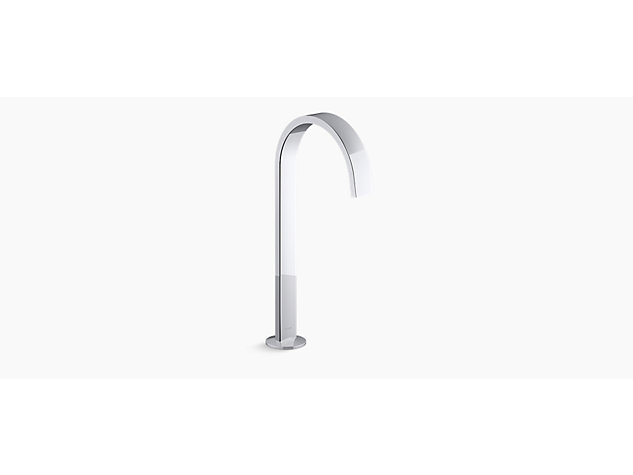 Components™ Tall Ribbon basin spout