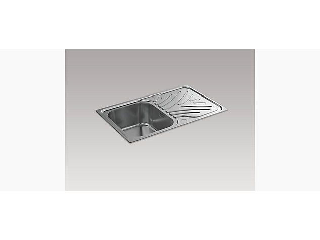 Ease 800mm Inset Sink with Draining Board