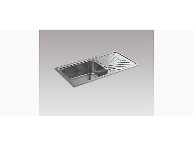 Ease 950mm Inset Sink with Draining Board