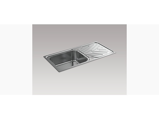 Ease 1000mm Inset Sink with Draining Board
